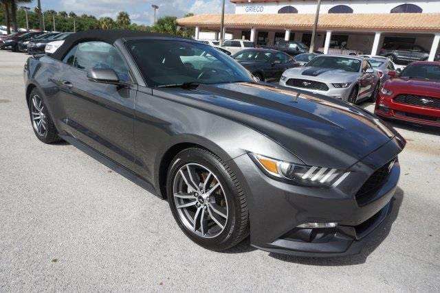 2016 ford mustang ecoboost premium ecoboost premium 2dr convertible for sale in delray beach. Black Bedroom Furniture Sets. Home Design Ideas