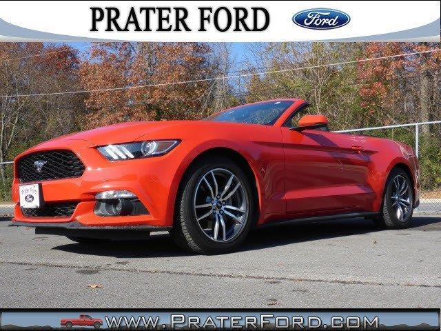 2016 ford mustang ecoboost premium ecoboost premium 2dr convertible for sale in calhoun georgia. Black Bedroom Furniture Sets. Home Design Ideas