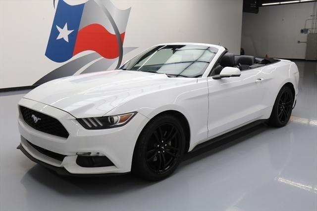 2016 ford mustang ecoboost premium ecoboost premium 2dr convertible for sale in houston texas. Black Bedroom Furniture Sets. Home Design Ideas