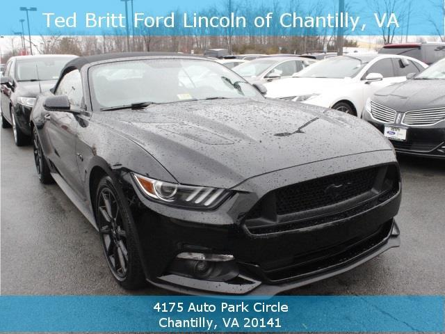 2016 ford mustang gt premium gt premium 2dr convertible for sale in chantilly virginia. Black Bedroom Furniture Sets. Home Design Ideas