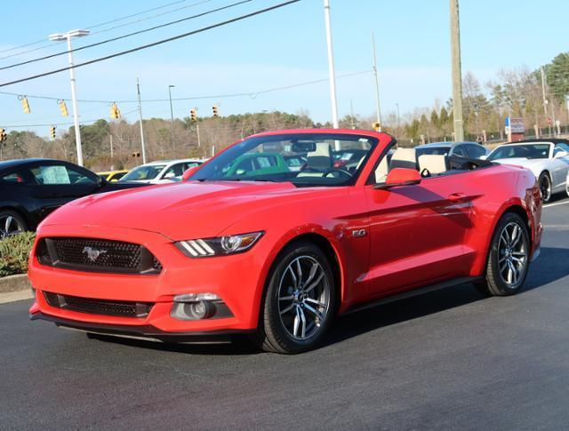 2016 ford mustang gt premium gt premium 2dr convertible for sale in acworth georgia classified. Black Bedroom Furniture Sets. Home Design Ideas