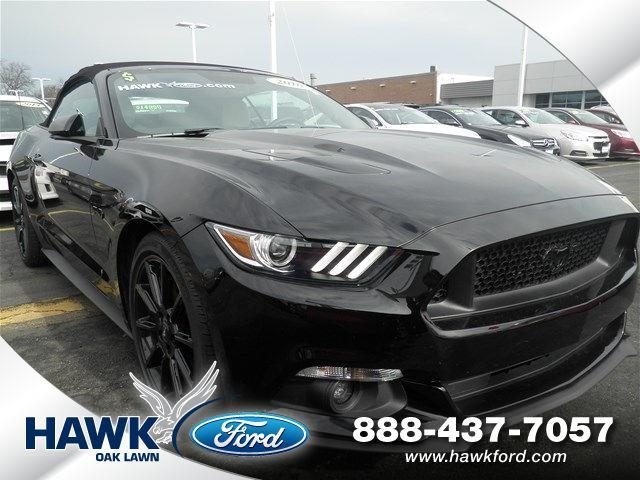 2016 ford mustang gt premium gt premium 2dr convertible for sale in oak lawn illinois. Black Bedroom Furniture Sets. Home Design Ideas