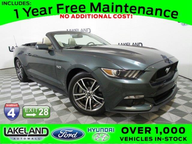 2016 ford mustang gt premium gt premium 2dr convertible for sale in lakeland florida classified. Black Bedroom Furniture Sets. Home Design Ideas