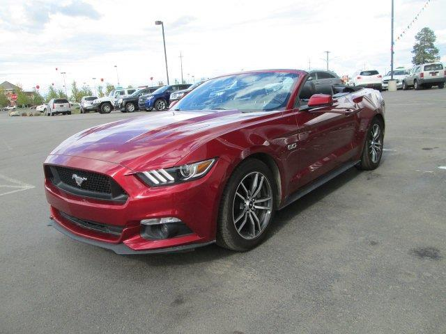 2016 ford mustang gt premium gt premium 2dr convertible for sale in spokane washington. Black Bedroom Furniture Sets. Home Design Ideas