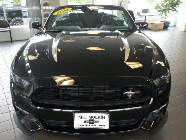 2016 ford mustang gt premium gt premium 2dr convertible for sale in nashua new hampshire. Black Bedroom Furniture Sets. Home Design Ideas