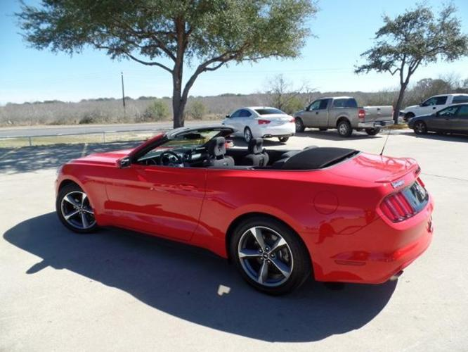 2016 ford mustang v6 v6 2dr convertible for sale in devine texas classified. Black Bedroom Furniture Sets. Home Design Ideas
