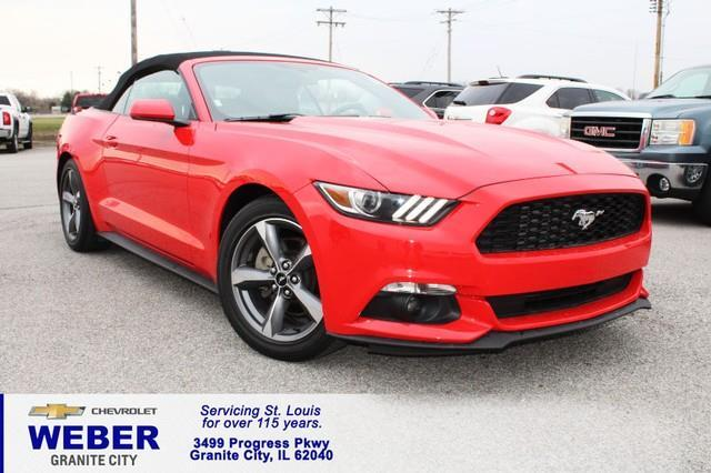 2016 ford mustang v6 v6 2dr convertible for sale in granite city illinois classified. Black Bedroom Furniture Sets. Home Design Ideas