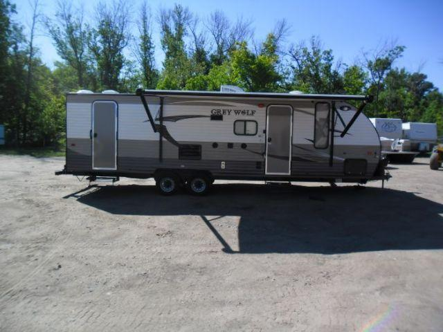 2016 forest river cherokee grey wolf 26 dbh travel trailer for sale in detroit lakes minnesota