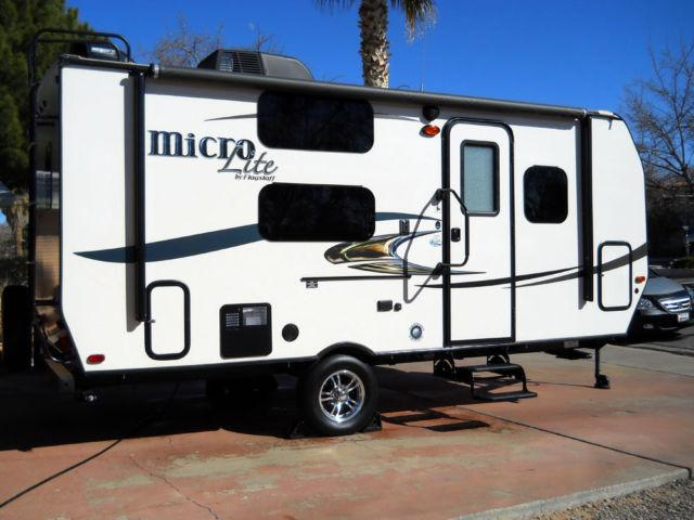 2016 Forest River Flagstaff Micro Lite 19FD Camp