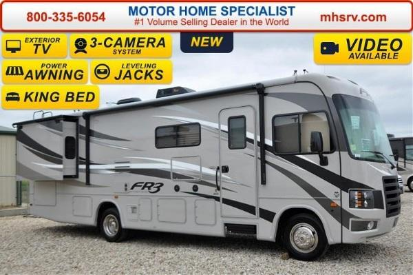 2016 Forest River FR3 30DS W/2 Slide King Bed Ext  TV &