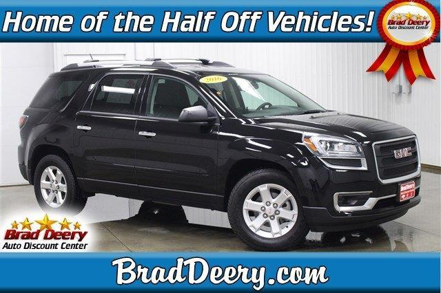 2016 gmc acadia sle 1 sle 1 4dr suv for sale in fulton iowa classified. Black Bedroom Furniture Sets. Home Design Ideas