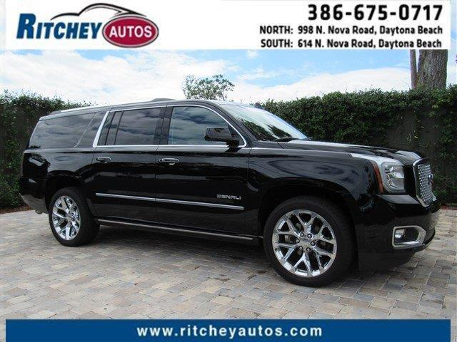 2016 gmc yukon xl denali 4x4 denali 4dr suv for sale in daytona beach florida classified. Black Bedroom Furniture Sets. Home Design Ideas