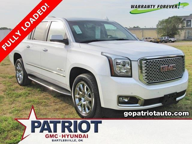2016 gmc yukon xl denali 4x4 denali 4dr suv for sale in bartlesville oklahoma classified. Black Bedroom Furniture Sets. Home Design Ideas