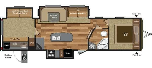 2016 Hideout 32bhts For Sale In Tulsa Oklahoma Classified