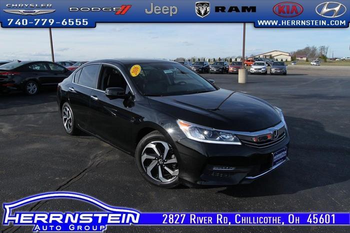 Herrnstein Hyundai Chillicothe Ohio >> 2016 Honda Accord EX-L w/Navi w/Honda Sensing EX-L 4dr ...