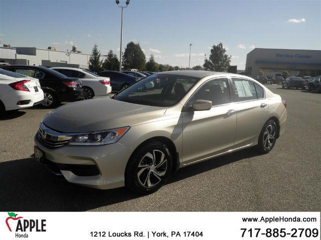 2016 Honda Accord LX LX 4dr Sedan CVT