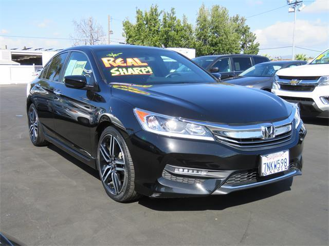 2016 Honda Accord Sport Sport 4dr Sedan CVT