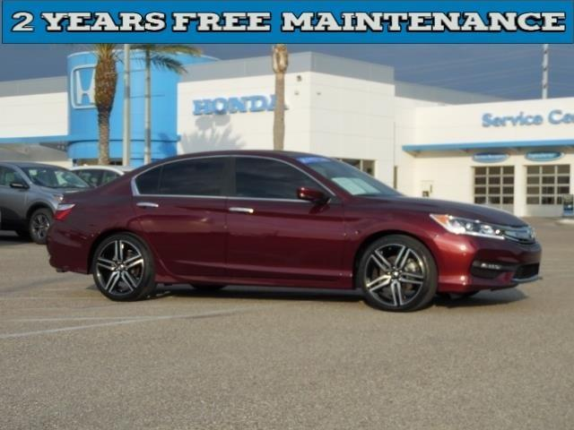 2016 honda accord sport sport 4dr sedan cvt for sale in for Honda accord sport for sale near me