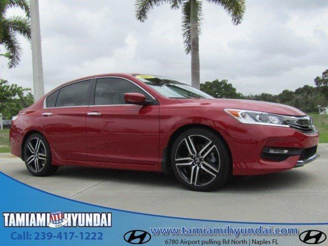 2016 honda accord sport sport 4dr sedan cvt for sale in naples florida classified. Black Bedroom Furniture Sets. Home Design Ideas