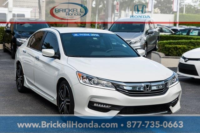 2016 honda accord sport sport 4dr sedan cvt for sale in miami florida classified. Black Bedroom Furniture Sets. Home Design Ideas