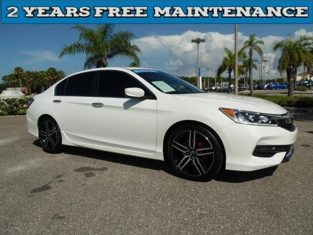 2016 honda accord sport sport 4dr sedan cvt for sale in port richey florida classified. Black Bedroom Furniture Sets. Home Design Ideas