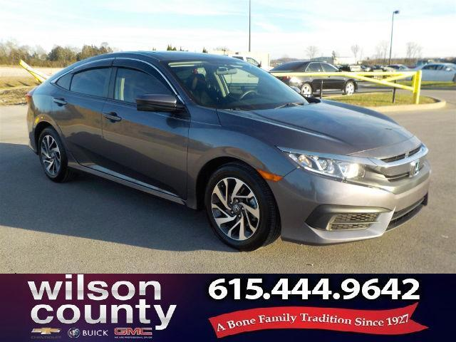 2016 Honda Civic EX EX 4dr Sedan