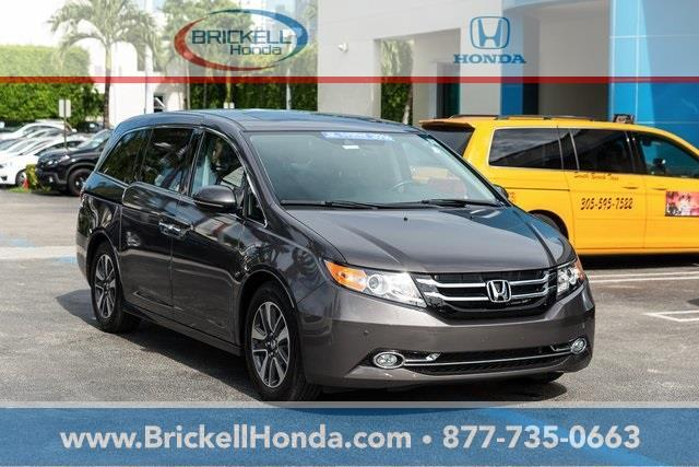 2016 honda odyssey touring touring 4dr mini van for sale in miami florida classified. Black Bedroom Furniture Sets. Home Design Ideas