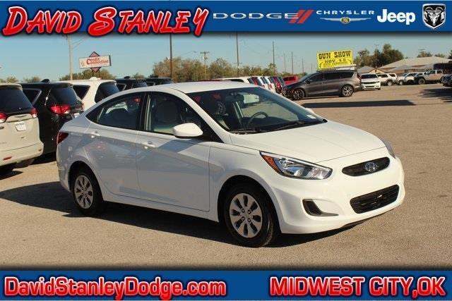 2016 hyundai accent se se 4dr sedan 6a for sale in oklahoma city oklahoma classified. Black Bedroom Furniture Sets. Home Design Ideas