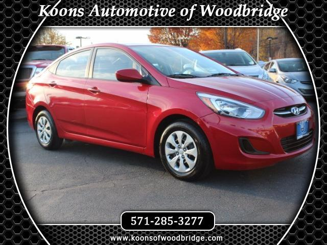 2016 hyundai accent se se 4dr sedan 6a for sale in woodbridge virginia classified. Black Bedroom Furniture Sets. Home Design Ideas