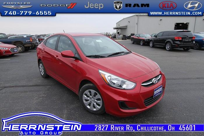 2016 hyundai accent se se 4dr sedan 6a for sale in chillicothe ohio classified. Black Bedroom Furniture Sets. Home Design Ideas