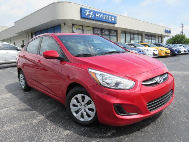 2016 hyundai accent se se 4dr sedan 6a for sale in algood tennessee classified. Black Bedroom Furniture Sets. Home Design Ideas