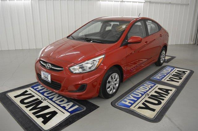 2016 hyundai accent se se 4dr sedan 6a for sale in yuma arizona classified. Black Bedroom Furniture Sets. Home Design Ideas