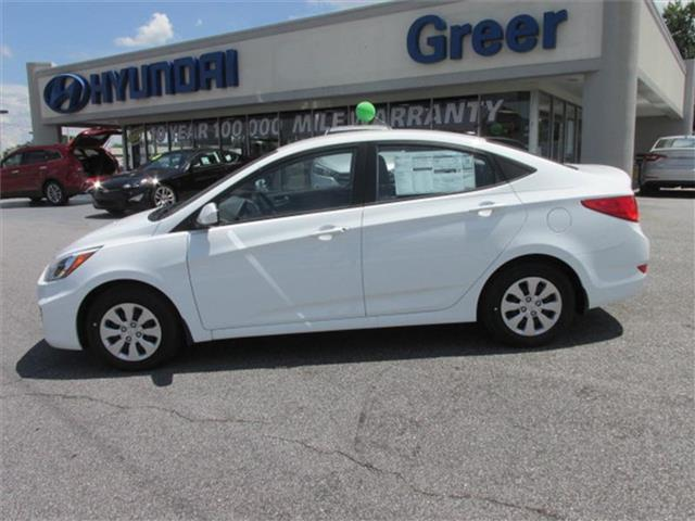 2016 hyundai accent se se 4dr sedan 6m for sale in greer south carolina classified. Black Bedroom Furniture Sets. Home Design Ideas