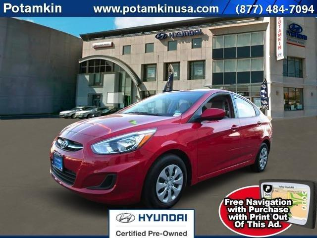 2016 hyundai accent se se 4dr sedan 6m for sale in manhattan new york classified. Black Bedroom Furniture Sets. Home Design Ideas