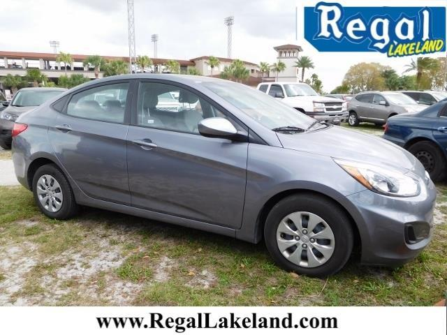 2016 hyundai accent se se 4dr sedan 6m for sale in lakeland florida classified. Black Bedroom Furniture Sets. Home Design Ideas