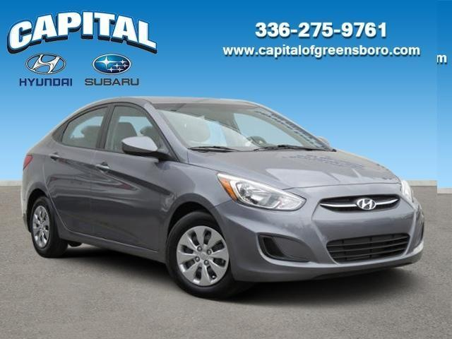 Capital Hyundai Of Greensboro >> 2016 Hyundai Accent SE SE 4dr Sedan 6M for Sale in Greensboro, North Carolina Classified ...