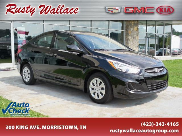 2016 hyundai accent se se 4dr sedan 6m for sale in morristown tennessee classified. Black Bedroom Furniture Sets. Home Design Ideas