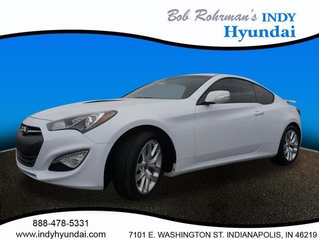 2016 Hyundai Genesis Coupe 3.8 3.8 2dr Coupe 6M w/Black