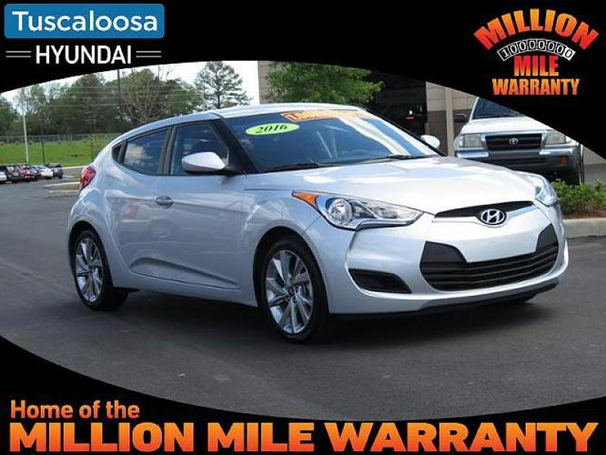 American Auto Sales Of Skyland: 2016 Hyundai Veloster Base 3dr Coupe 6M W/Black Seats For