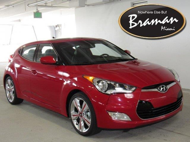2016 Hyundai Veloster Base 3dr Coupe Dct W Yellow Accent Interior For Sale In Miami Florida