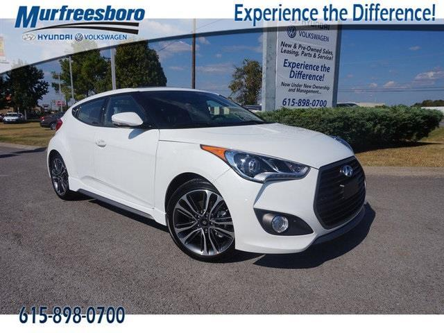 2016 Hyundai Veloster Turbo Base 3dr Coupe Dct W Black