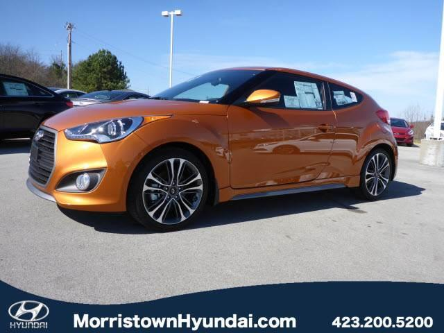 2016 Hyundai Veloster Turbo Base 3dr Coupe Dct W Orange Accent Interior For Sale In Morristown
