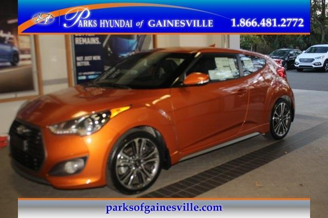 2016 Hyundai Veloster Turbo Base 3dr Coupe DCT w/Orange