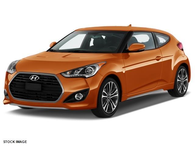 2016 Hyundai Veloster Turbo Base 3dr Coupe Dct W Orange Accent Interior For Sale In Asheville