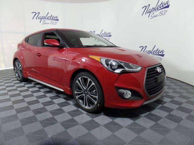 2016 Hyundai Veloster Turbo Base 3dr Coupe Dct W Orange Accent Interior For Sale In West Palm
