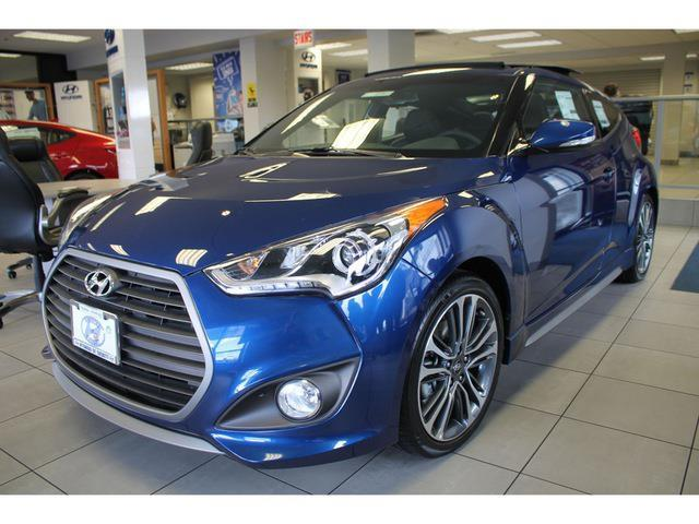 2016 Hyundai Veloster Turbo Base 3dr Coupe Dct W Orange Accent Interior For Sale In Everett