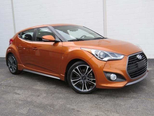 2016 hyundai veloster turbo base 3dr coupe dct w orange accent interior for sale in greensboro. Black Bedroom Furniture Sets. Home Design Ideas
