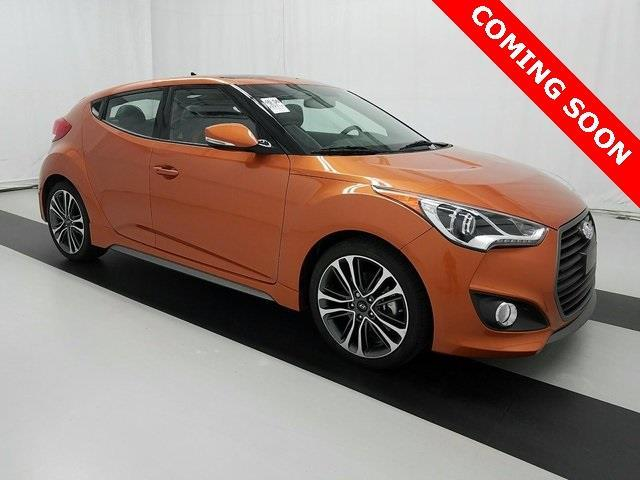 2016 Hyundai Veloster Turbo Base 3dr Coupe Dct W Orange Accent Interior For Sale In Atlanta
