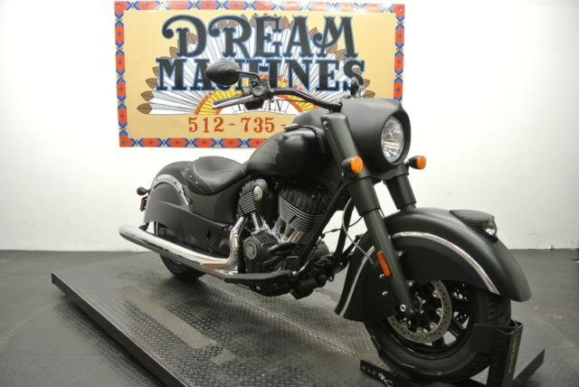2016 indian chief dark horse for sale in old round rock texas classified. Black Bedroom Furniture Sets. Home Design Ideas