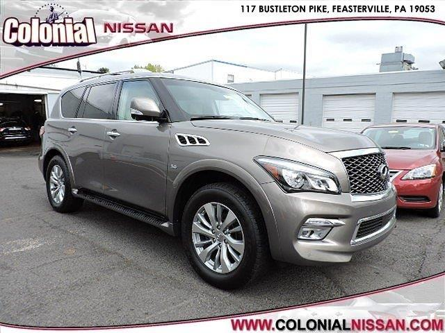 2016 infiniti qx80 base awd 4dr suv for sale in langhorne pennsylvania classified. Black Bedroom Furniture Sets. Home Design Ideas